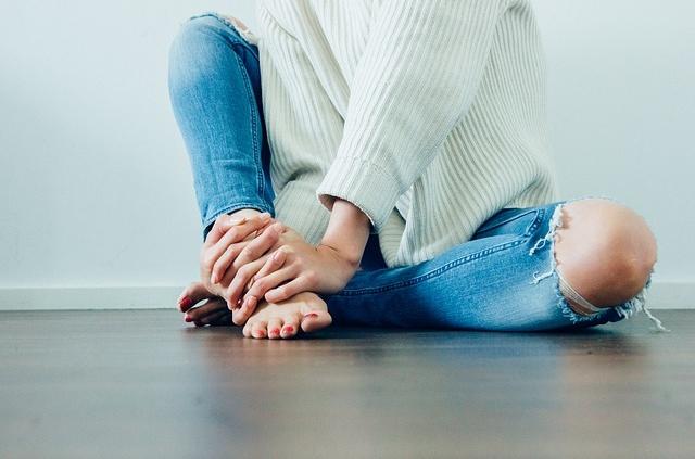 Knie - Küssen statt spritzen