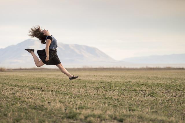 Springen Faszien